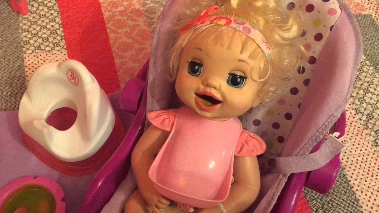 Best ideas about Baby Alive Toilet . Save or Pin Unboxing baby alive learns to potty 2007 and feeding Now.