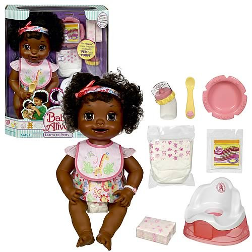 Best ideas about Baby Alive Toilet . Save or Pin Baby Alive Learns To Potty African American Hasbro Now.