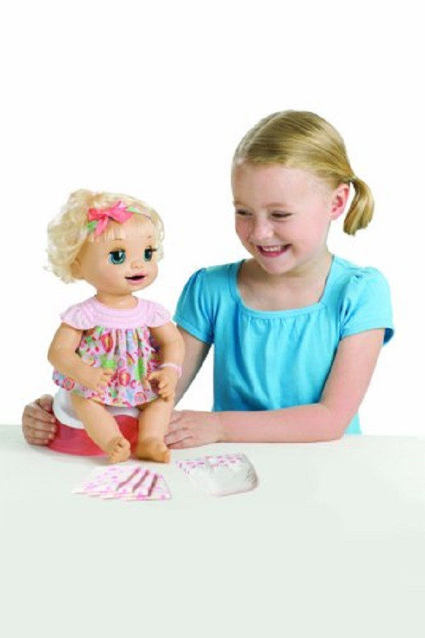 Best ideas about Baby Alive Toilet . Save or Pin Baby Alive Learns to Potty Doll Soft Face Interactive Now.