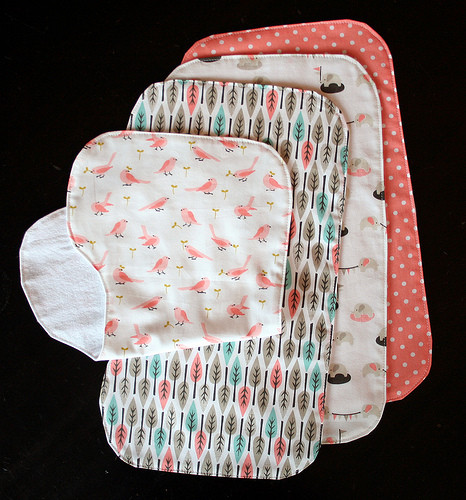 Best ideas about Baby Burp Cloths DIY . Save or Pin 25 Adorable & Easy to Make Baby Accessories Now.