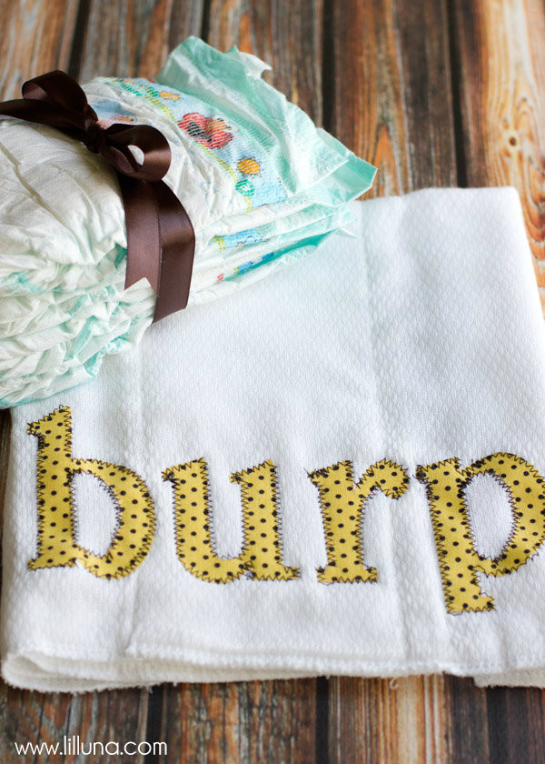 Best ideas about Baby Burp Cloths DIY . Save or Pin BURP Cloths Tutorial Now.