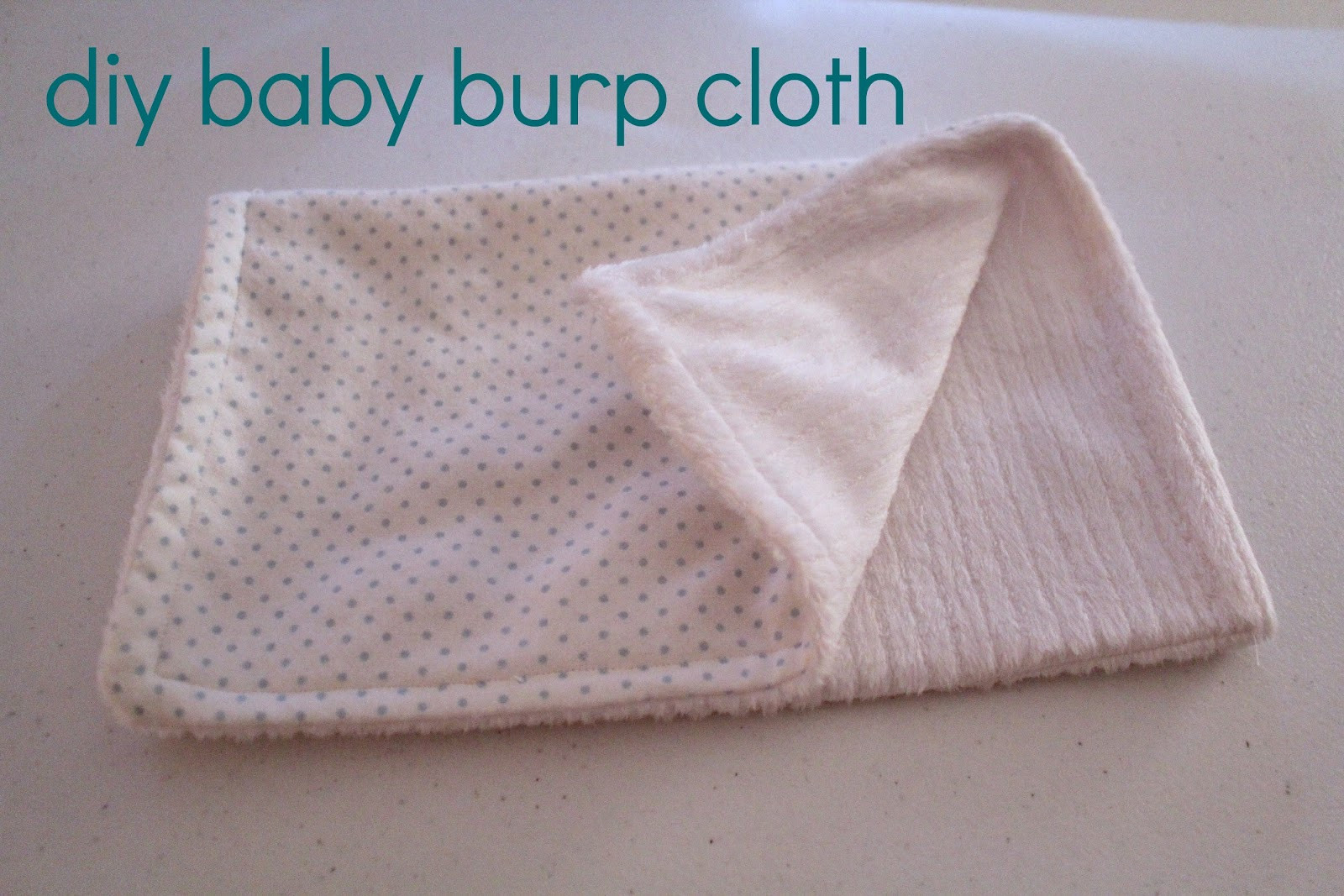 Best ideas about Baby Burp Cloths DIY . Save or Pin Ten June DIY Baby Burp Cloth Now.