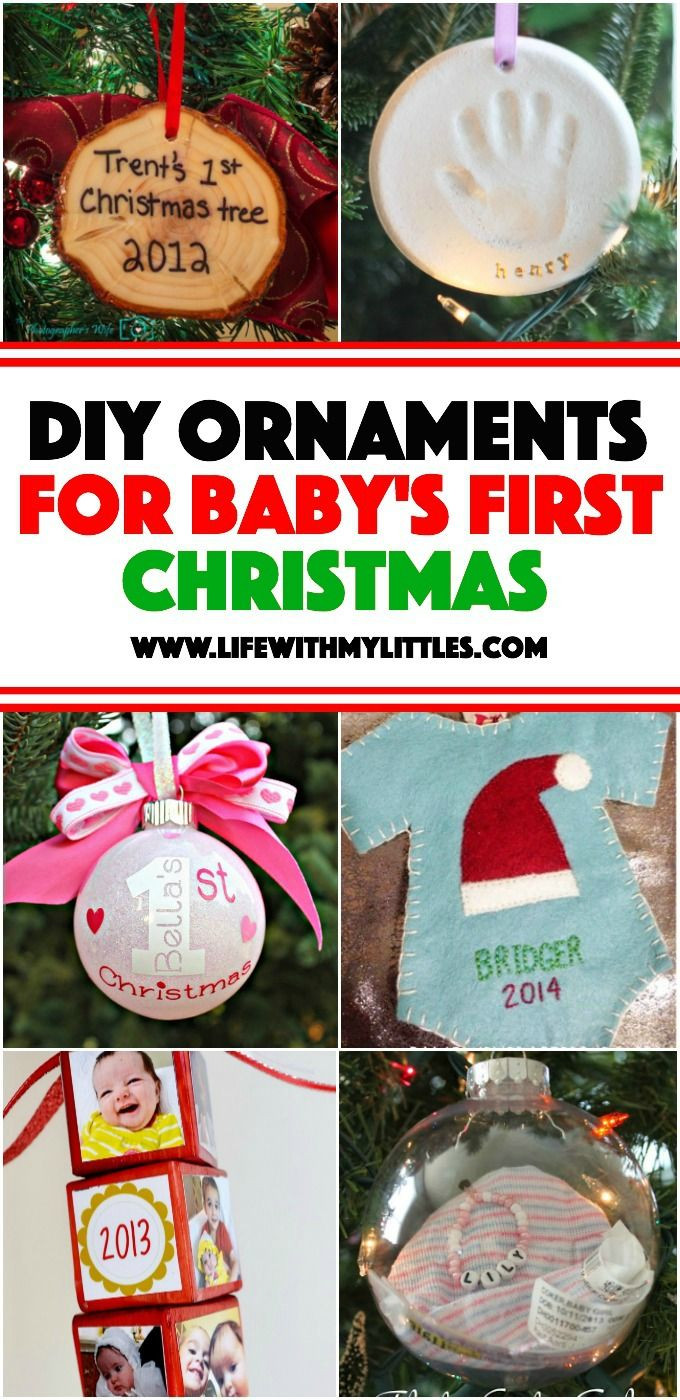 Best ideas about Baby First DIY . Save or Pin 25 unique Baby first christmas ornament ideas on Now.
