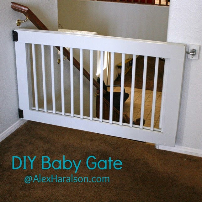 Best ideas about Baby Gate DIY . Save or Pin Blissful and Domestic Creating a Beautiful Life on Less Now.