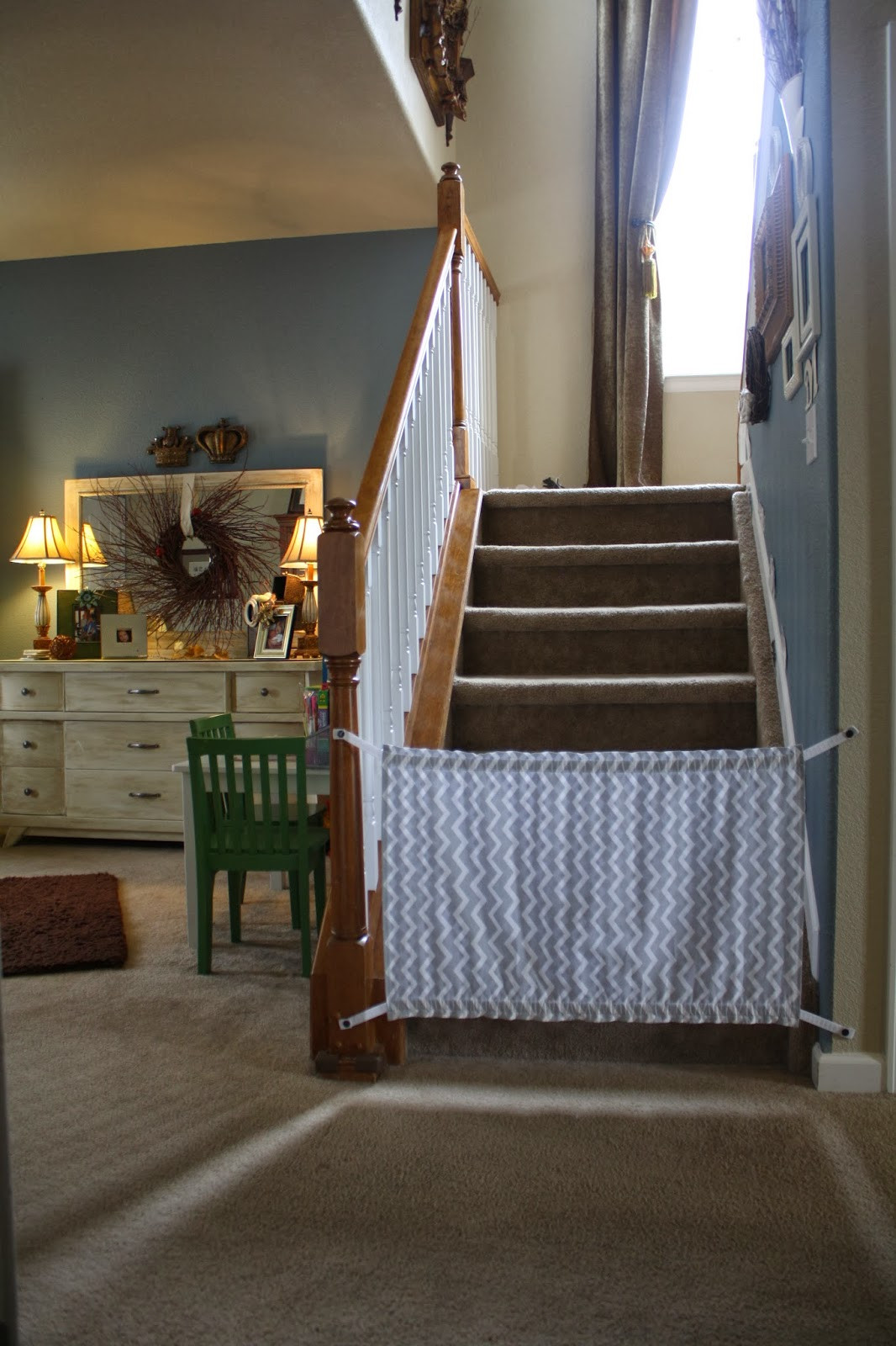 Best ideas about Baby Gate DIY . Save or Pin McCash Family blog Homemade Baby Gate A Tutorial Now.