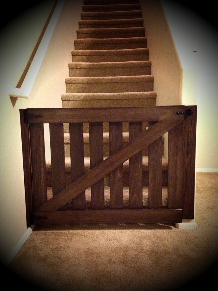 Best ideas about Baby Gate DIY . Save or Pin DIY baby gate barndoor babygate Now.