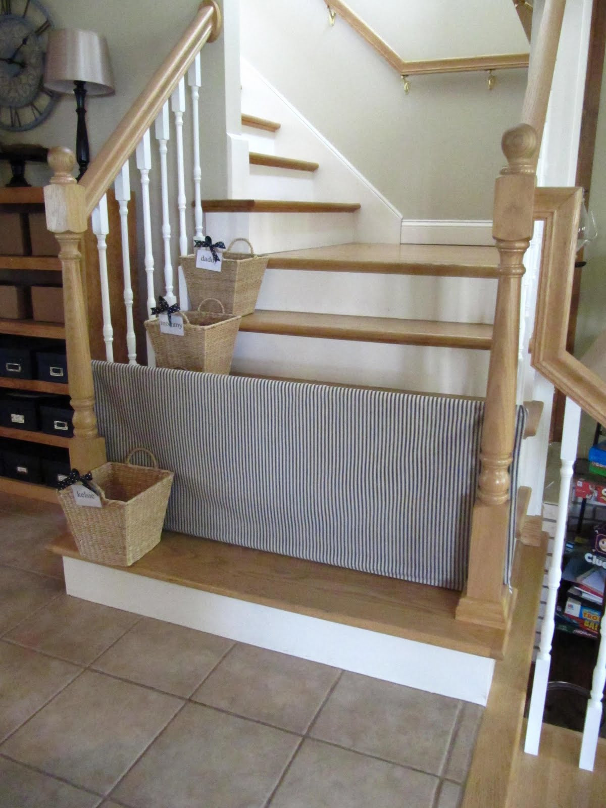 Best ideas about Baby Gate DIY . Save or Pin 10 DIY Baby Gates for Stairs Now.