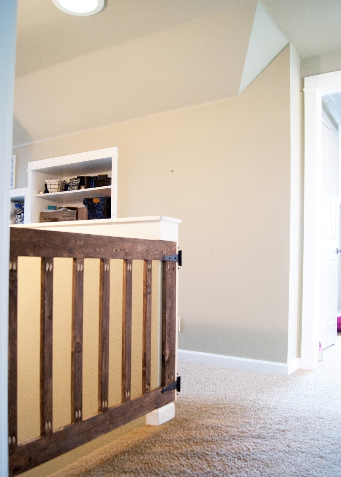 Best ideas about Baby Gate DIY . Save or Pin Custom Baby Gate Now.