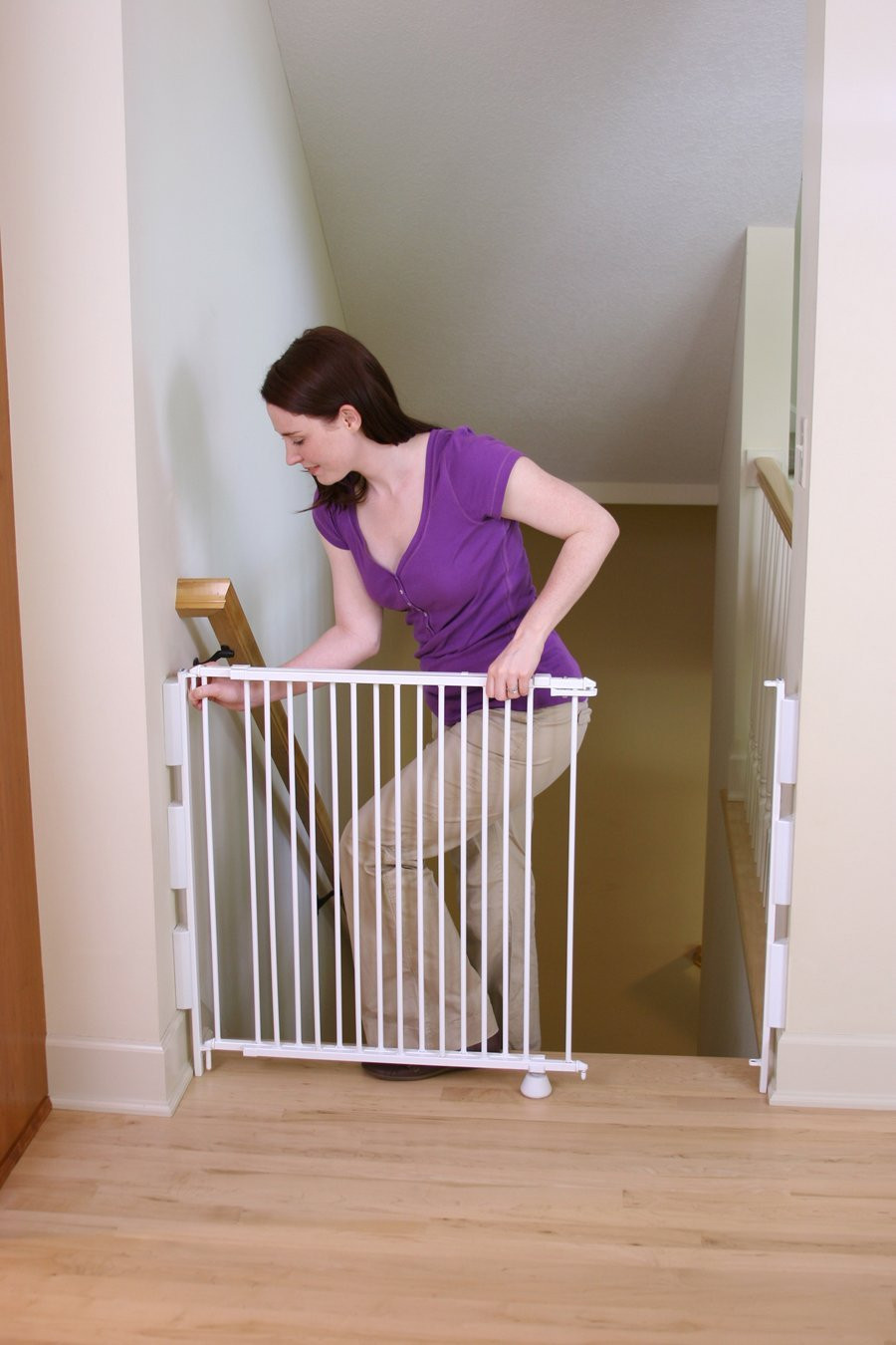 Best ideas about Baby Gate For Top Of Stairs . Save or Pin Best Baby Gates For Top Stairs Now.