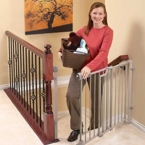 Best ideas about Baby Gate For Top Of Stairs . Save or Pin paring The Best Baby Gates For Stairs Top and Bottom Now.