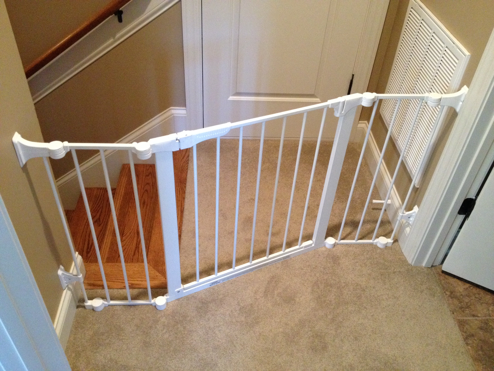 Best ideas about Baby Gate For Top Of Stairs . Save or Pin Professionally Installed Baby Gates Nashville TN Stair Now.