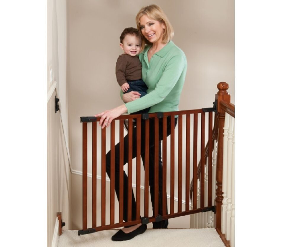 Best ideas about Baby Gate For Top Of Stairs . Save or Pin KidCo G2301 Angle Mount Cherry Wood Safeway 1 Rated Top Now.