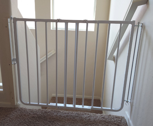 Best ideas about Baby Gate For Top Of Stairs . Save or Pin Baby Proofing Phoenix Arizona Custom Baby Gate Now.