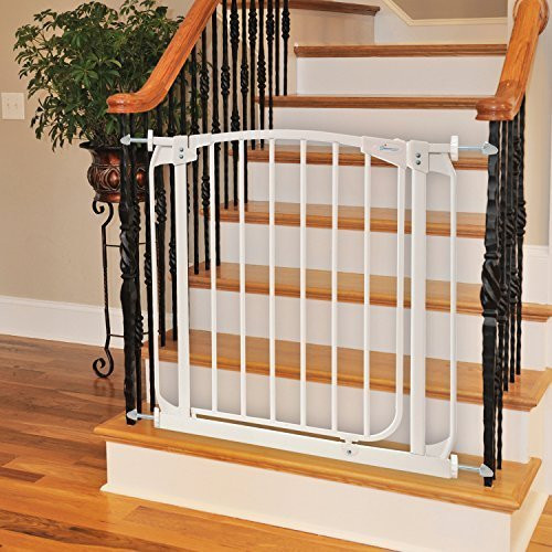 Best ideas about Baby Gate For Top Of Stairs . Save or Pin Best Baby Gates for Stairs 2019 Top and Bottom Now.