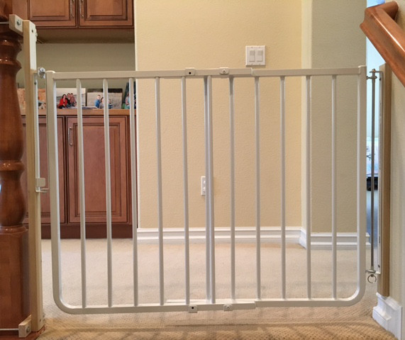 Best ideas about Baby Gate For Top Of Stairs . Save or Pin Custom Baby Safety Stair Gate Now.