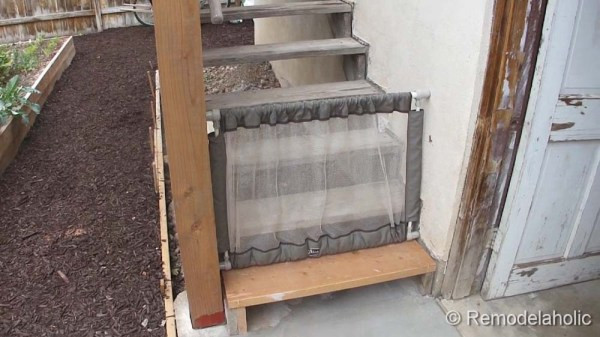 Best ideas about Baby Gates DIY . Save or Pin DIY Outdoor Tall baby Gate for Deck Stairs Now.