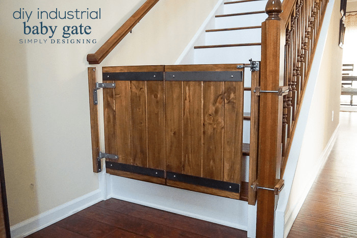 Best ideas about Baby Gates DIY . Save or Pin Industrial DIY Baby Gate Now.