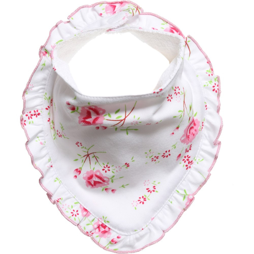 Best ideas about Baby Girl Craft . Save or Pin Powell Craft Baby Girls Cotton White Rose Floral Bib Now.