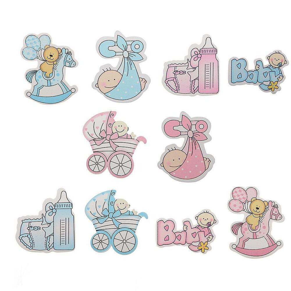 Best ideas about Baby Girl Craft . Save or Pin 10Pc Wooden BABY GIRL Themed Card Making Scrapbooking Now.