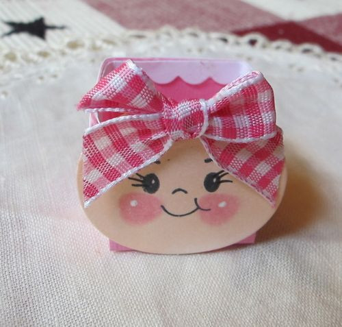 Best ideas about Baby Girl Craft . Save or Pin Baby Girl Shower Favor Punch Art & Big Shot Now.