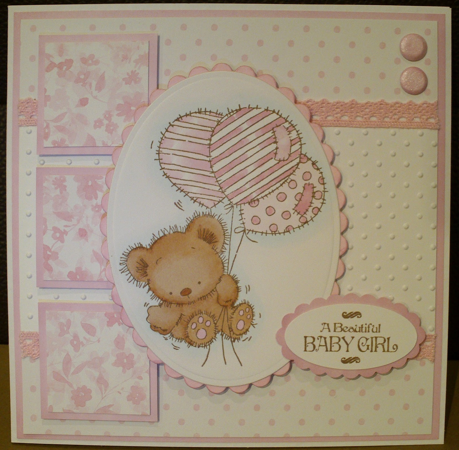Best ideas about Baby Girl Craft . Save or Pin cards n crafts LOTV Baby Girl Now.