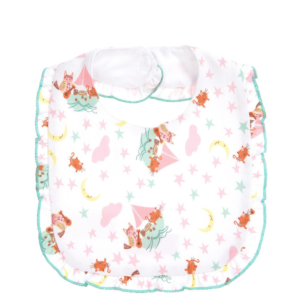 Best ideas about Baby Girl Craft . Save or Pin Powell Craft Baby Girls Owl & The Pussycat Frilled Bib Now.