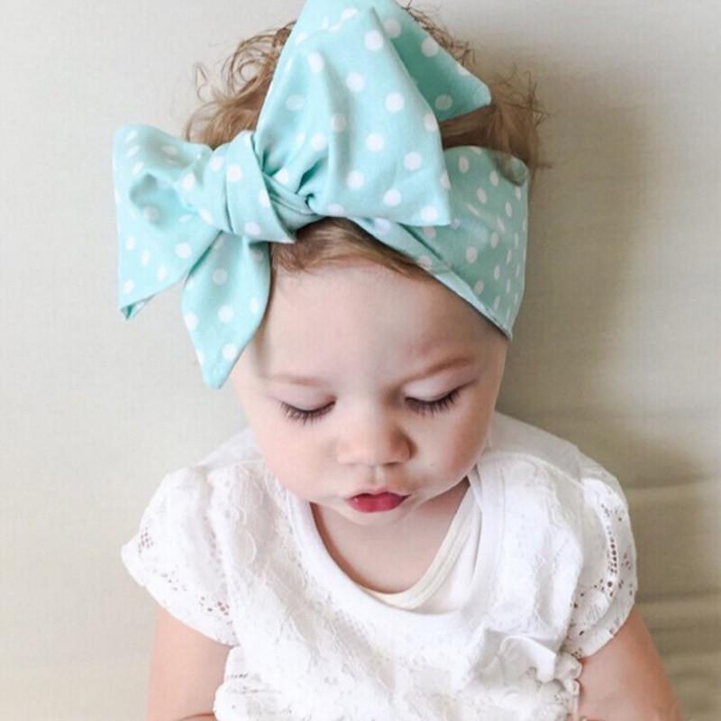 Best ideas about Baby Girl Headband DIY . Save or Pin NEW 2016 DIY Kid Girls Turban Knot Headband Big Bow Now.
