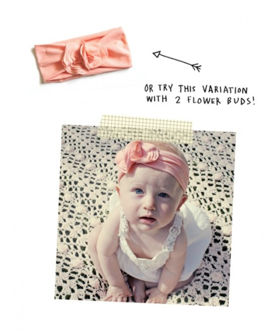 Best ideas about Baby Girl Headband DIY . Save or Pin DIY Jersey Headband For Your Baby Girl Now.