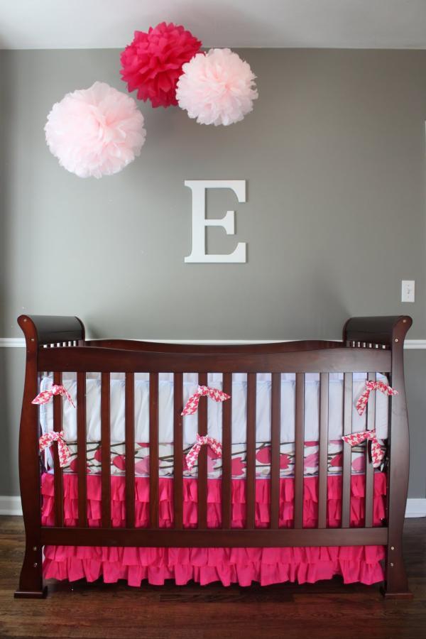 Best ideas about Baby Girls Room Decor Ideas . Save or Pin 25 Modern Nursery Design Ideas Now.