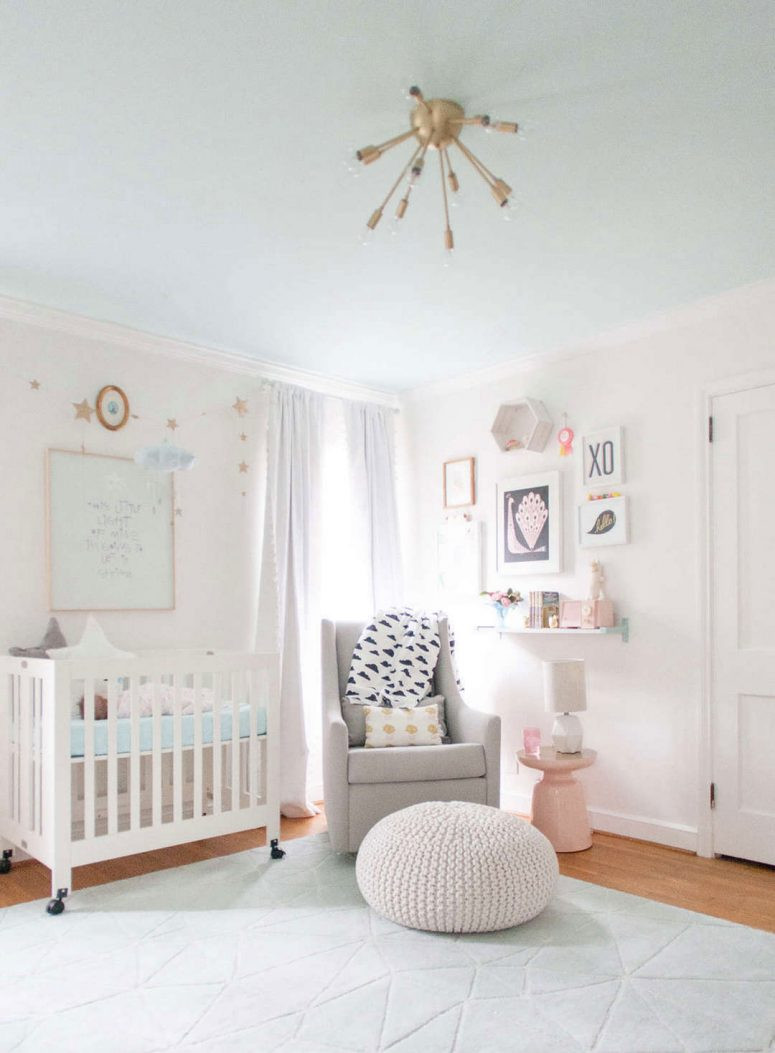 Best ideas about Baby Girls Room Decor Ideas . Save or Pin baby girl nursery decor ideas Now.