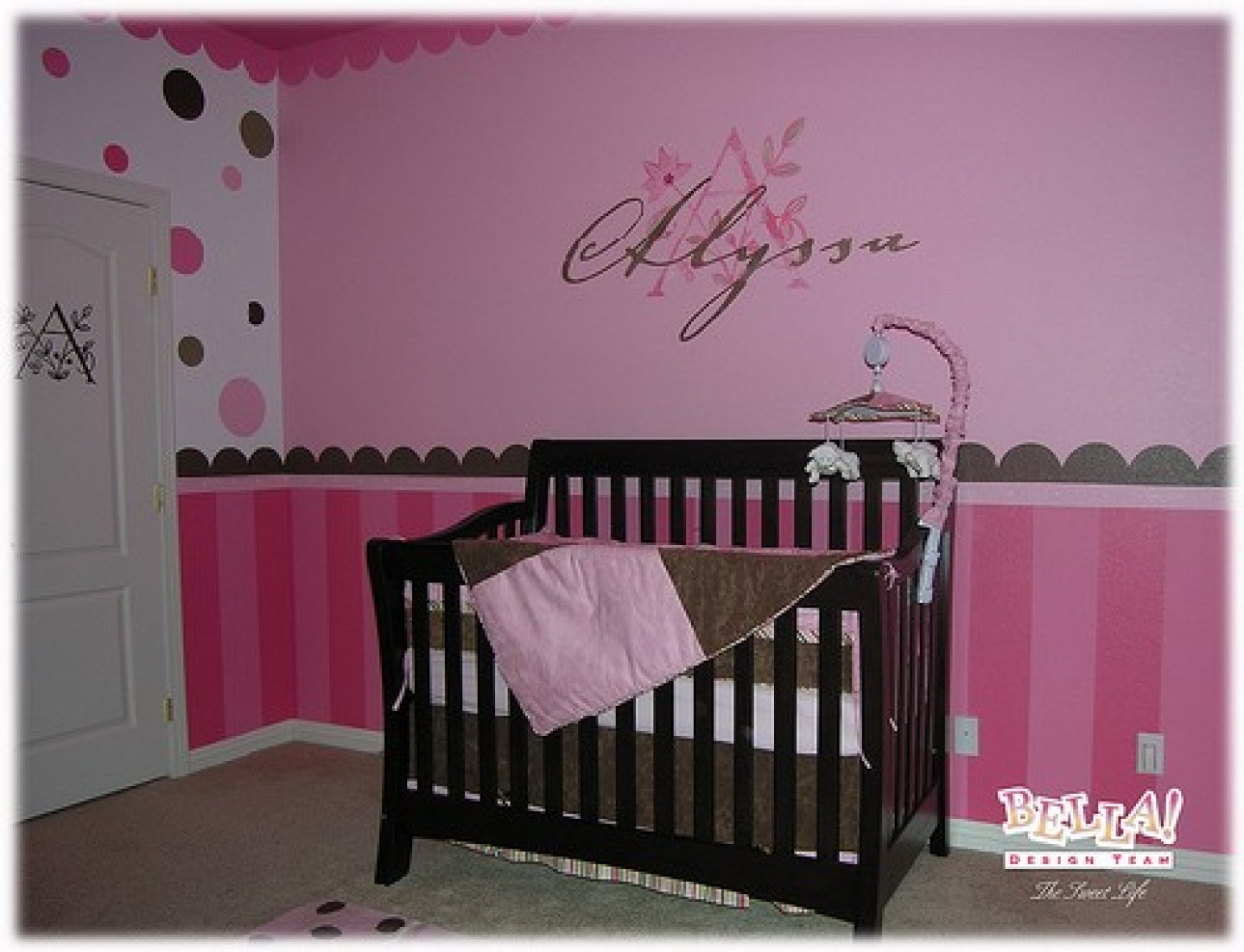 Best ideas about Baby Girls Room Decor Ideas . Save or Pin Bedroom Ideas For A Baby Girl HOME DELIGHTFUL Now.