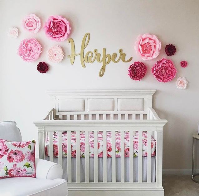 Best ideas about Baby Girls Room Decor Ideas . Save or Pin 25 best ideas about Baby Girl Rooms on Pinterest Now.