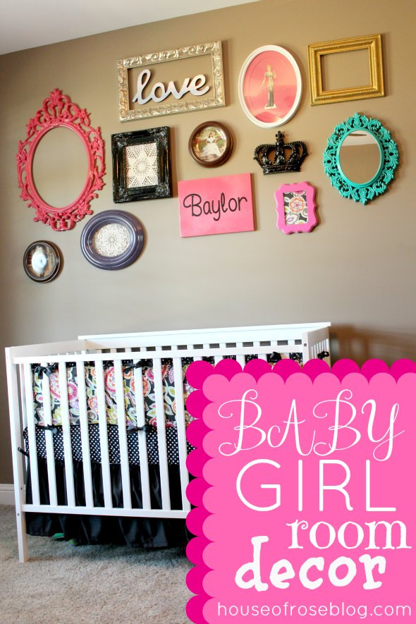 Best ideas about Baby Girls Room Decor Ideas . Save or Pin Baby Girl Room Ideas Decorating Now.