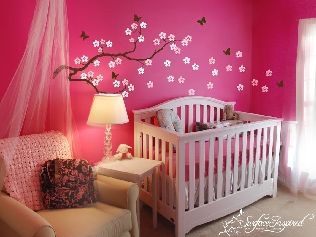 Best ideas about Baby Girls Room Decor Ideas . Save or Pin Kadınların Renkli Dünyası Şirin Mi Şirin Bebek Odaları Now.