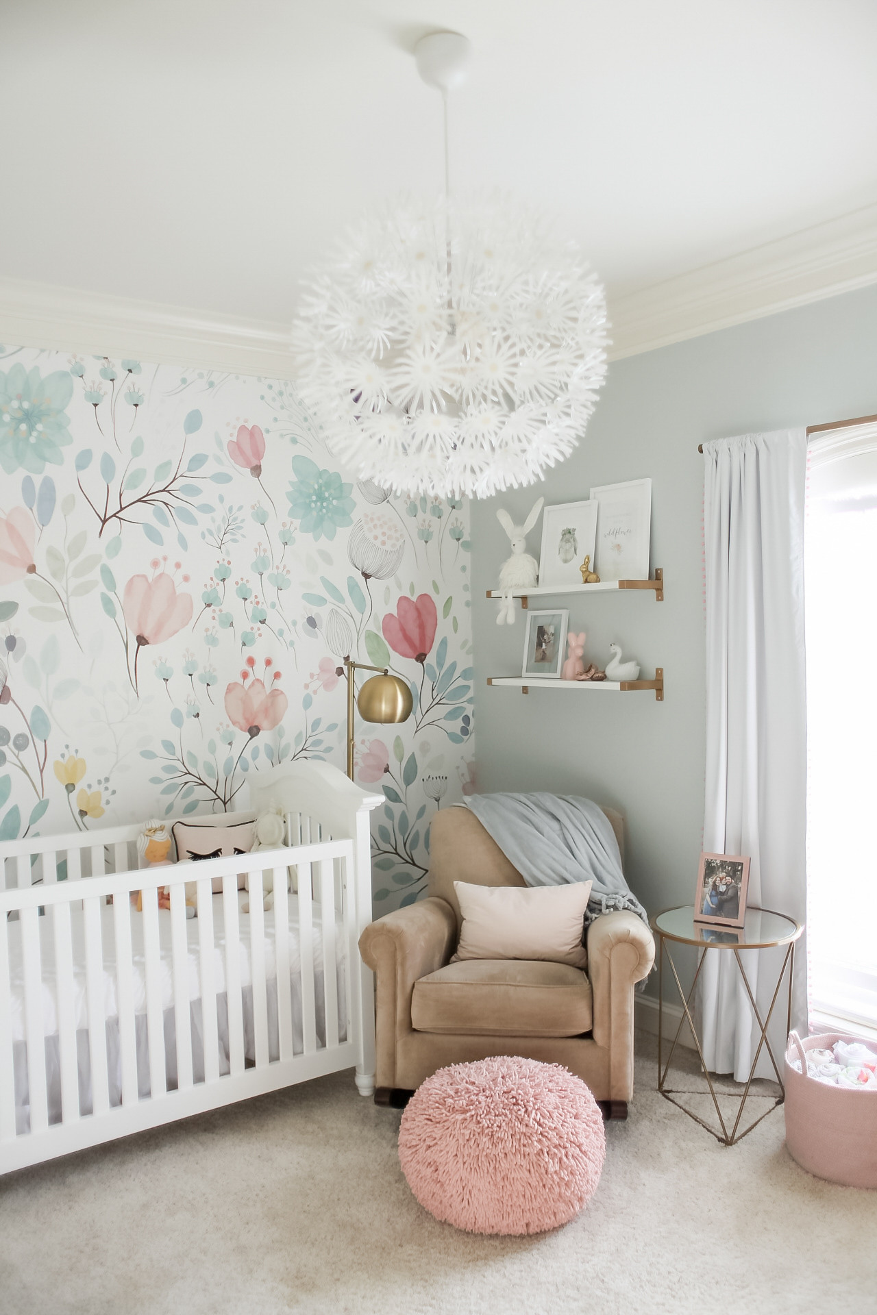 Best ideas about Baby Girls Room Decor Ideas . Save or Pin Bright and Whimsical Nursery for Colette Project Nursery Now.