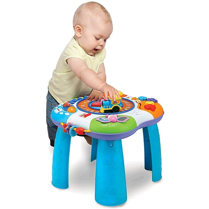Best ideas about Baby Learning Table . Save or Pin Winfun multifunctional Early Education Toys Learning Baby Now.