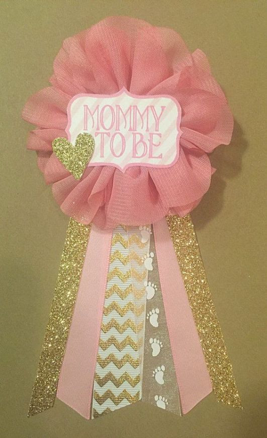 Best ideas about Baby Shower Corsages DIY . Save or Pin 5 Cute DIY Baby Shower Corsages To Make Shelterness Now.