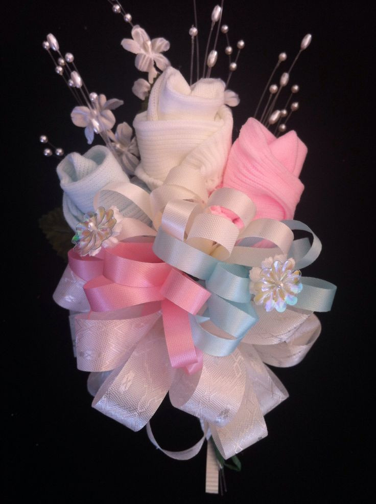 Best ideas about Baby Shower Corsages DIY . Save or Pin Best 25 Baby sock corsage ideas on Pinterest Now.