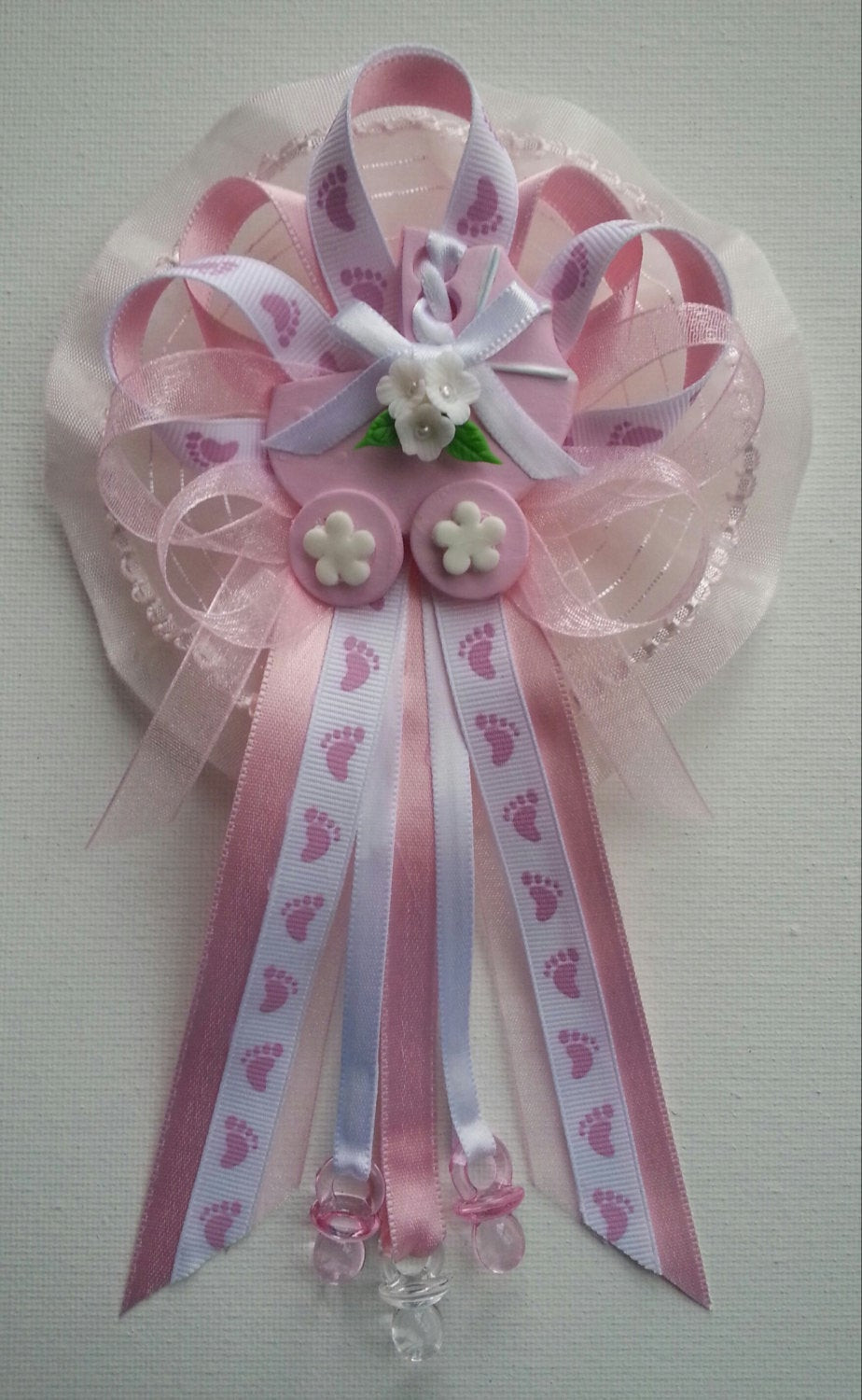 Best ideas about Baby Shower Corsages DIY . Save or Pin Pink Baby Shower Mommy corsage with carriage by Now.