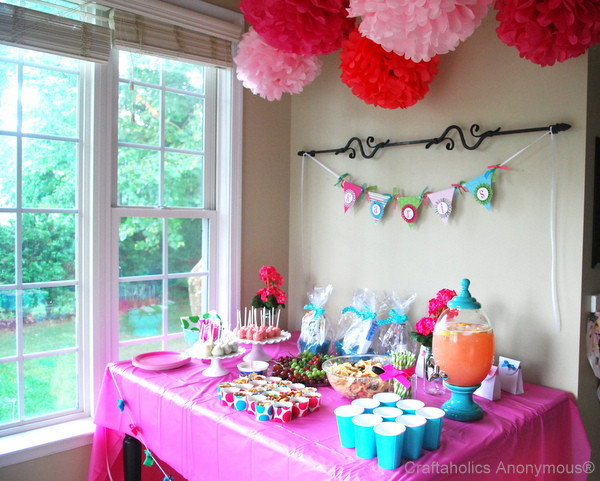 Best ideas about Baby Shower Decorating Ideas DIY . Save or Pin Craftaholics Anonymous Now.
