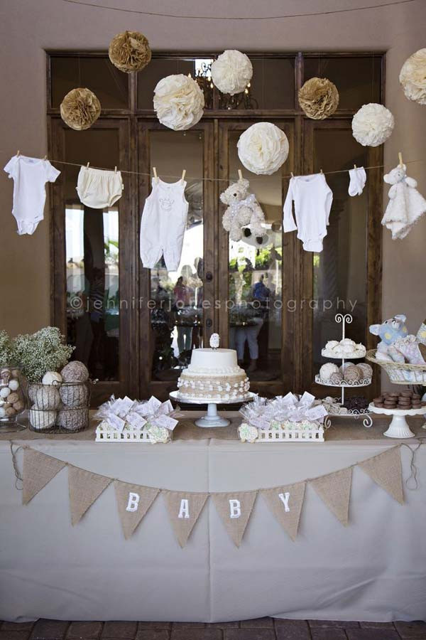 Best ideas about Baby Shower Decorating Ideas DIY . Save or Pin 22 Cute & Low Cost DIY Decorating Ideas for Baby Shower Party Now.