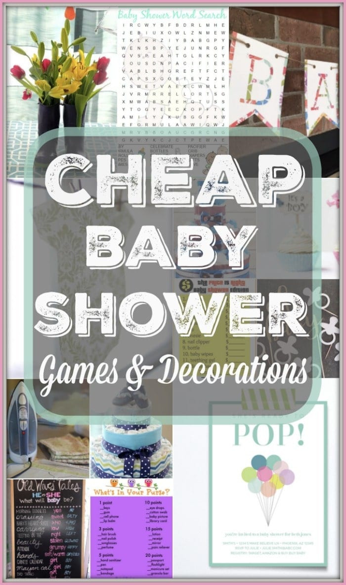 Best ideas about Baby Shower Decorating Ideas DIY . Save or Pin DIY Baby Shower Decorating Ideas · The Typical Mom Now.