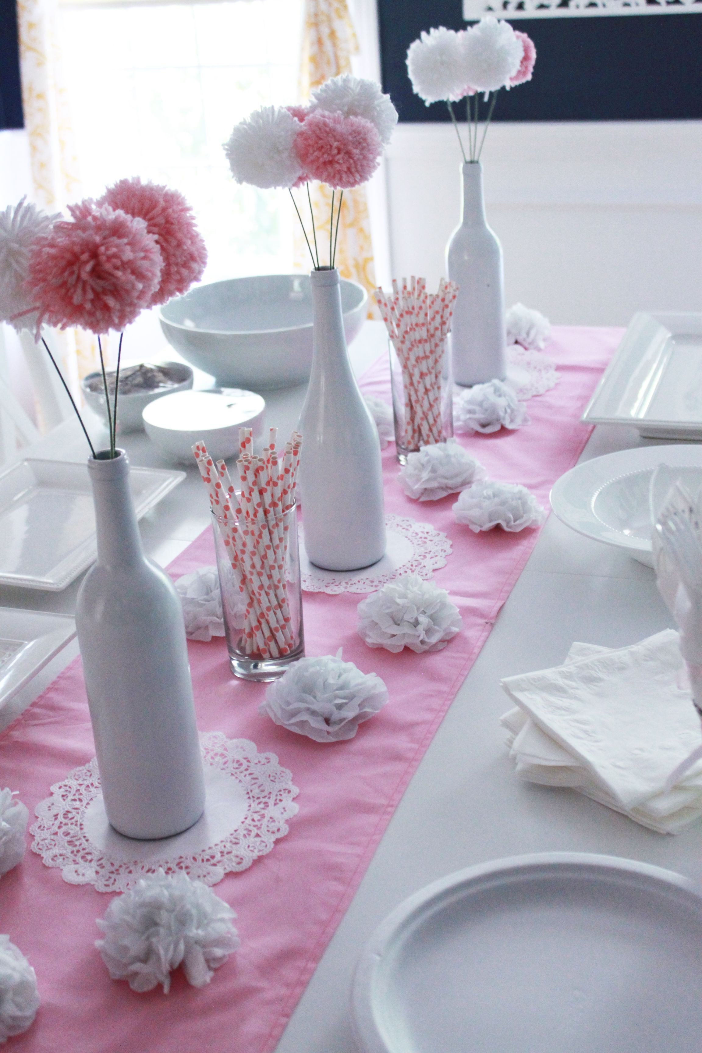 Best ideas about Baby Shower DIY Decorations . Save or Pin DIY Baby Shower Ideas for Girls Now.