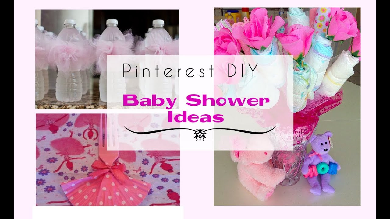 Best ideas about Baby Shower DIY Ideas . Save or Pin Pinterest DIY Baby Shower Ideas for a Girl Now.