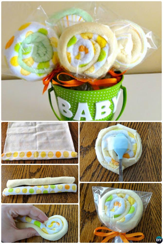 Best ideas about Baby Shower Gifts DIY . Save or Pin Handmade Baby Shower Gift Ideas [Picture Instructions] Now.