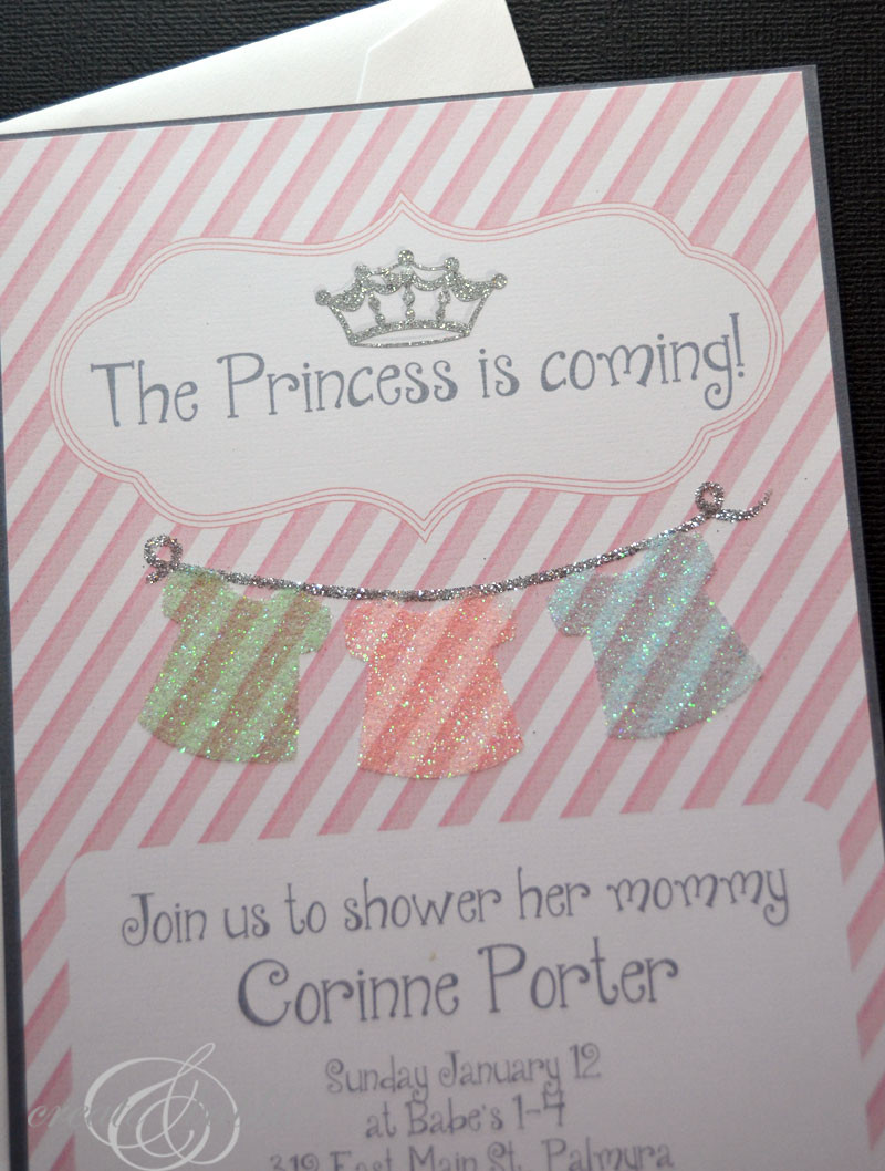 Best ideas about Baby Shower Invitations DIY . Save or Pin DIY Baby Girl Shower Invitations Now.
