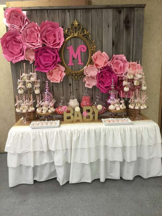 Best ideas about Baby Shower Table Decoration . Save or Pin 49 Cute Baby Shower Dessert Table Décor Ideas DigsDigs Now.