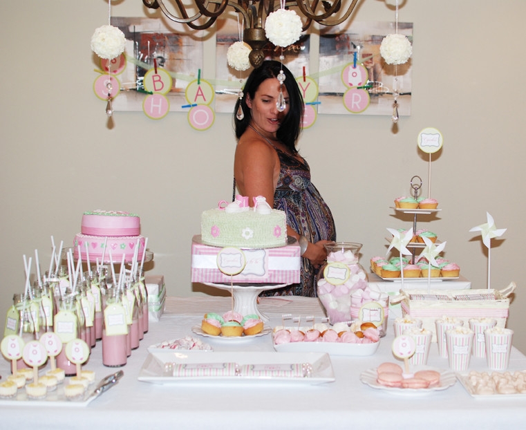 Best ideas about Baby Shower Table Decoration . Save or Pin Loosh Creations Baby Shower Table Decor Inspiration Now.