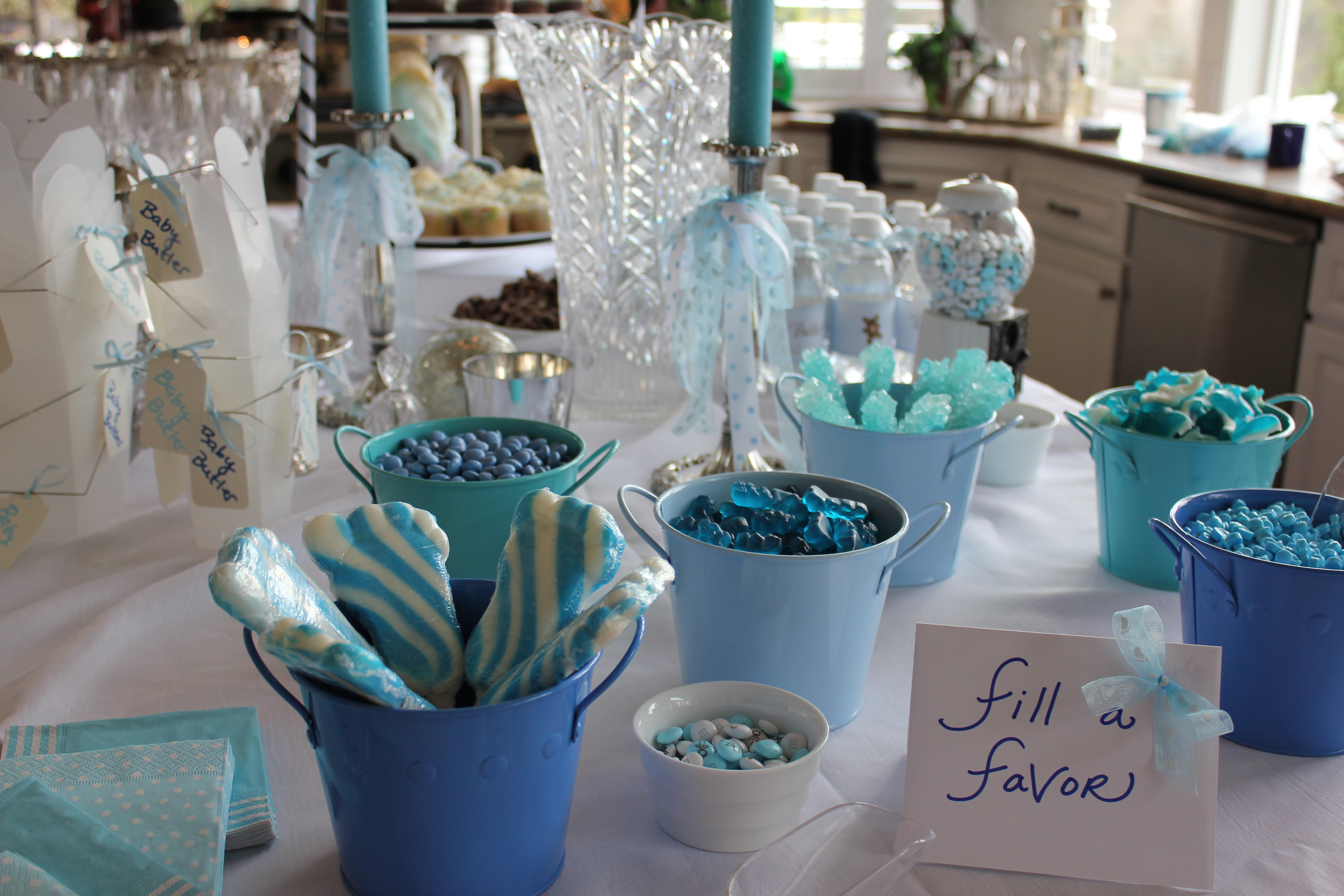 Best ideas about Baby Shower Table Decoration . Save or Pin Throwing a Baby Shower for a Boy Now.