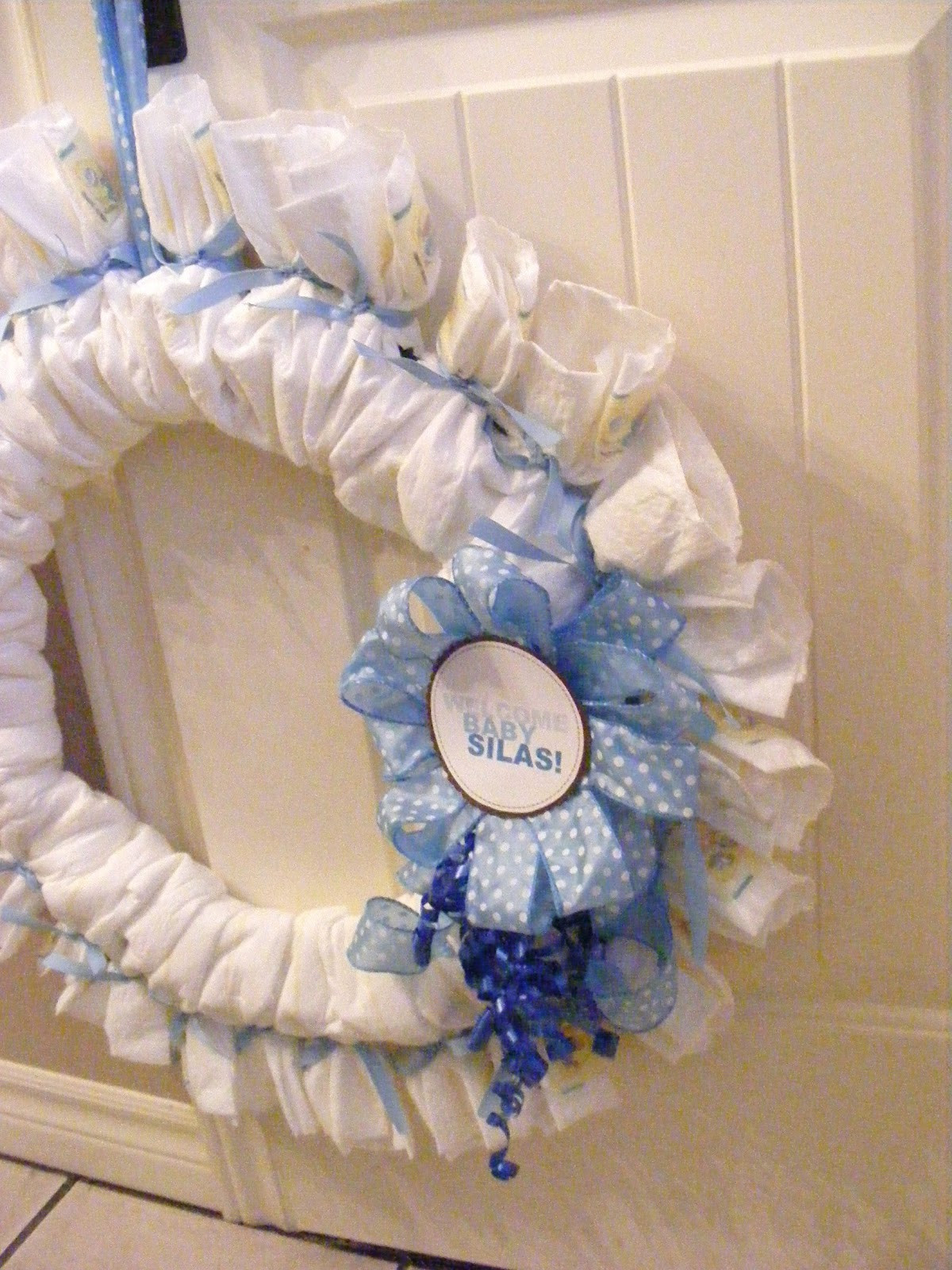 Best ideas about Baby Shower Wreath DIY . Save or Pin A Baby Shower Diaper Wreath Now.